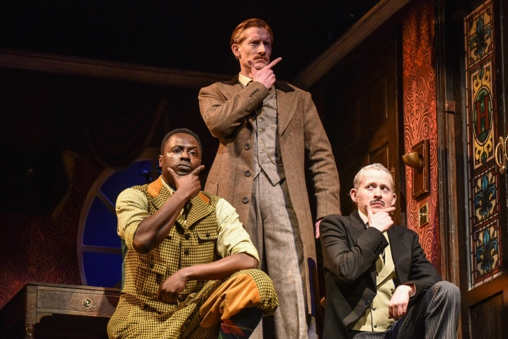 Image result for the play that goes wrong jake curran